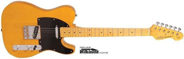 Vintage Reissued V52BS ~ electric guitar  Butterscotch – New